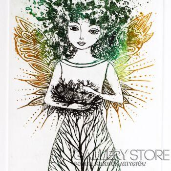 Ewa Narloch-Kerszka-Drzewo życia-Grafika