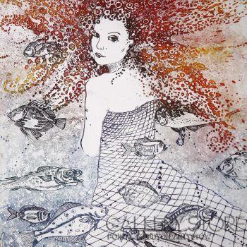 Ewa Narloch-Kerszka-Meduza-Grafika