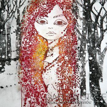 Ewa Narloch-Kerszka-Zima-Grafika