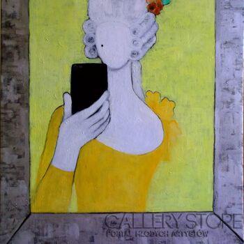 Helga Nagy-Selfie-Olej