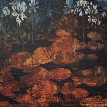 Izabela Wolska-Rzeka: Trwanie-Akryl