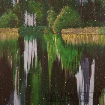 Jacek Malinowski-Paesaggio II-Akryl