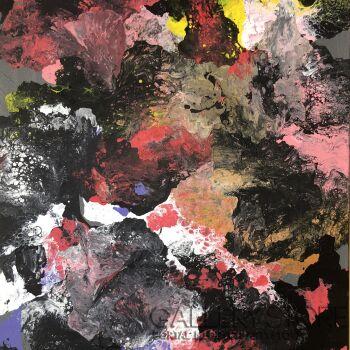 Janina Pelczar-Abstrakcja1-Akryl