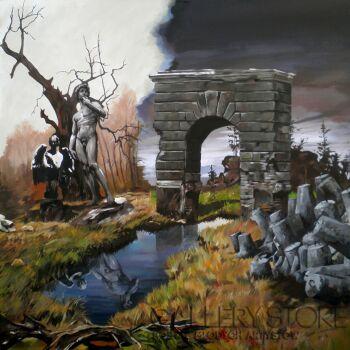Janusz Orzechowski-Ogród-Malarstwo