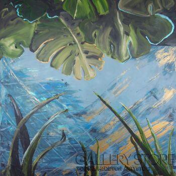 Joanna Pyrskała-Jungle in the city-Akryl