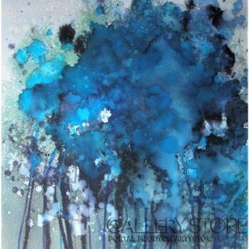 Joanna Sadecka-Emanacje-derangement-Akwarela