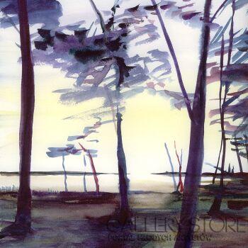 Joanna Sadecka-Słońce-Akwarela