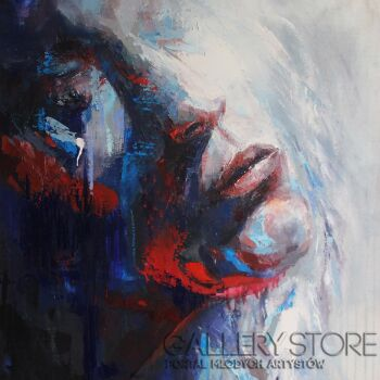 "Joanna Sokolowska-from ""Beyond"" series - """"Mystery""-Olej"