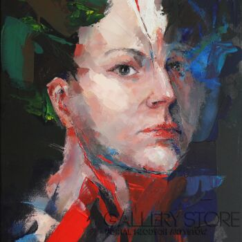 """Joanna Sokolowska-z serii """"Beyond"""" - """"Vibes""""-Olej"""