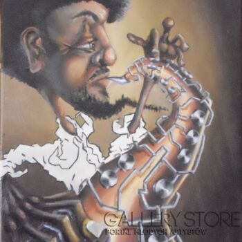 Joel Gwidt-Studium Jazzu -Olej