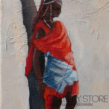 Jolanta Kitowska-Kwadryptyk Kenia 1-Olej