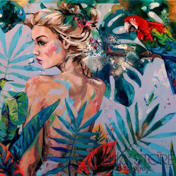 Kamila Jarecka-PLOTKARY-Akryl