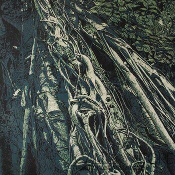 Karolina Lademann-Atagulkalu - Ukośne Drzewo-Grafika