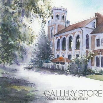 Karolina Majer-Pałacyk Szwedowskich - Radomsko-Akwarela