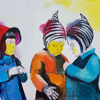 Kasia Gawron-Przyjaciółki 1-Olej