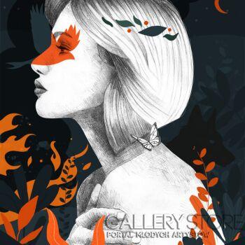 Klaudia Leclercq-Fire-Grafika