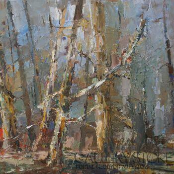 Krzysztof Tracz-Stare drzewa-Olej