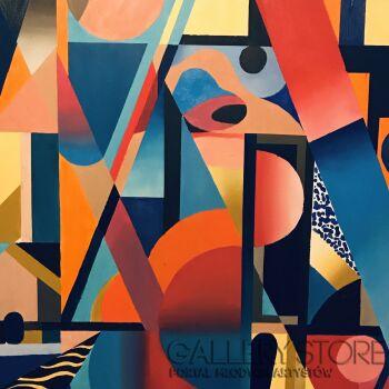 Lola  Rothschild -Kompozycja 123-Olej