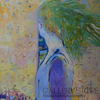 Magdalena Walulik-Ludzie - Kobiety - Nie oglądaj się teraz-Akryl