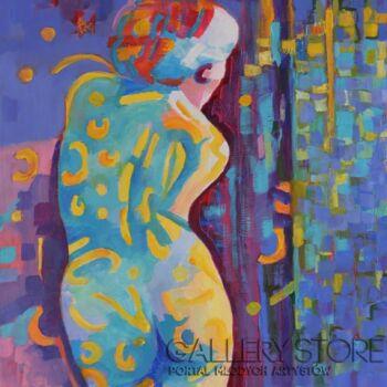 Magdalena Walulik-Patrząc na ciebie -Olej
