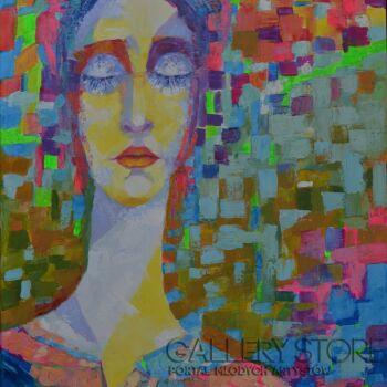 Magdalena Walulik-Z cyklu Ludzie - Kobiety - Sen -Olej
