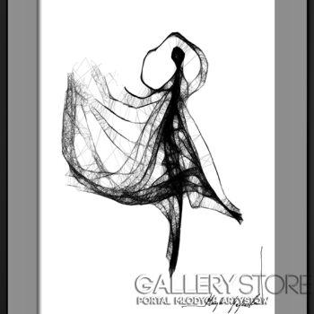 Maja Gajewska-55 - baletnica-Grafika