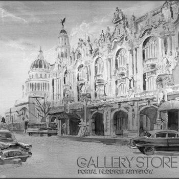 Małgorzata Żołnowska-Havana Teatr Wielki-Akwarela