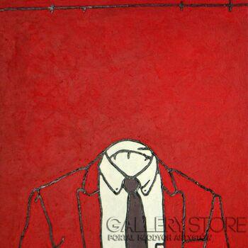 Marcin Lenczowski-Czerwony #10-Akryl