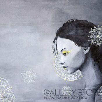 Maria Lewicka-Little Sensation - Yellow-Akryl