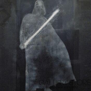 Marina Savlovskaya-Darth Vader-Technika mieszana