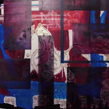 Mariola Świgulska-Basquiat Memory-Mieszana