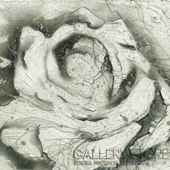 Mariola Świgulska-Białość róży-Akryl