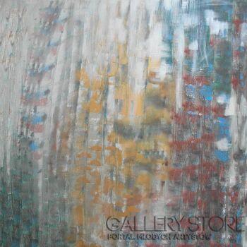 Mariola Świgulska-Deszczowy dzień-Akryl