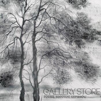 Mariola Świgulska-Wszystkie drzewa myślą wspak-Olej