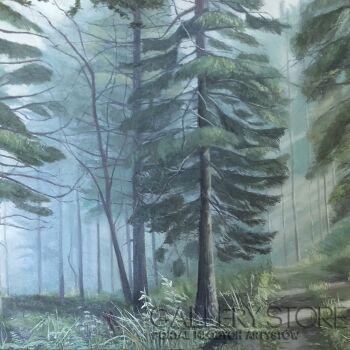 Marta Miszkurka-W lesie-Olej