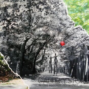 Martyna Mączka-Pod wierzchnią warstwą rzeczywistości-Akryl