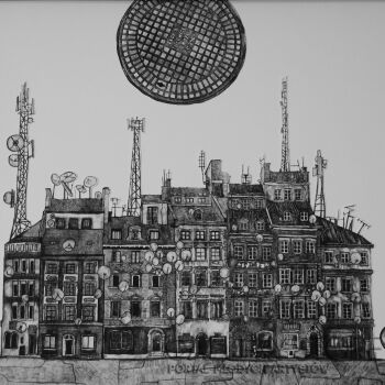 Mateusz Malarz-Tekstura miasta-Grafika