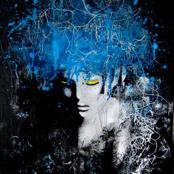 Milena Chmielewska-Blue-Akryl