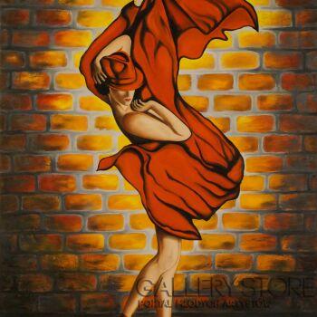 Monika Bubła-STREET DANCE-Olej