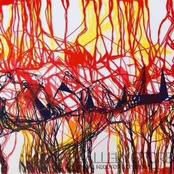 Monika Cichosz-Fractal Landscape-Grafika
