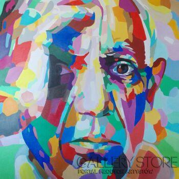Monika Łakomska-Picasso Abstract-Olej