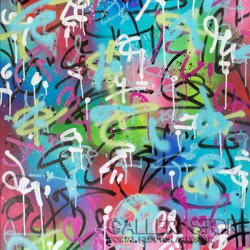 Monika Mrowiec-802 Street Art Avenue-Technika mieszana