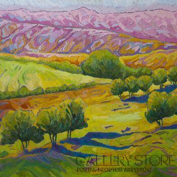 Monika Siwiec-Green valley-Olej
