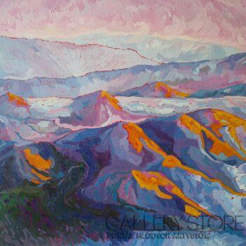 Monika Siwiec-Mountains breath-Olej