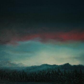 Natalia Ziomek- Wilusz-Wieczór w górach-Olej