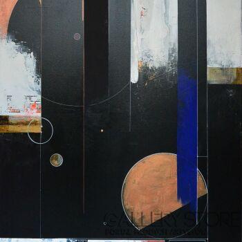Olga  Hausmann-Lost in space-Akryl
