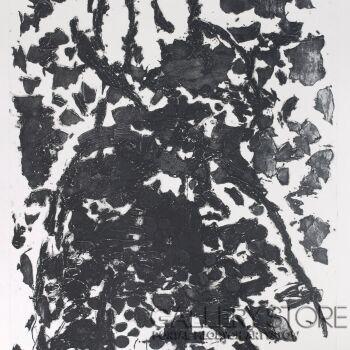 """Orwa Abu Turabe-z cyklu """"Pies"""" 14-Grafika"""