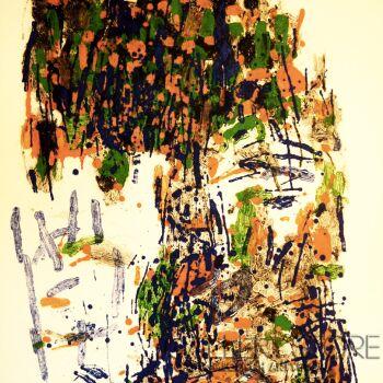 """Orwa Abu Turabe-z cyklu """"Pies""""-Grafika"""