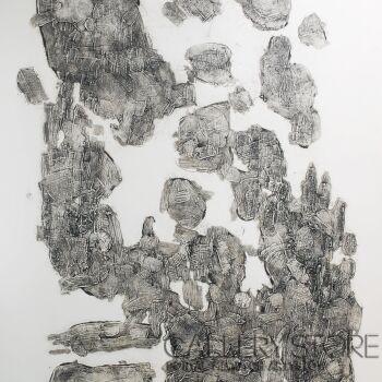 """Orwa Abu Turabe-z cyklu """"Pies"""" 8-Grafika"""