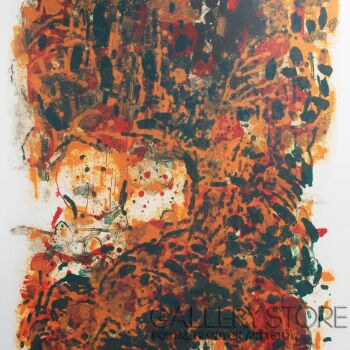 """Orwa Abu Turabe-z cyklu """"Pies"""" 9-Grafika"""